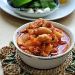 韩式辣酱炒鸡肉