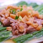丝瓜菜脯蒸猪肉
