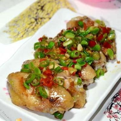 蚝油剁椒鸡翅