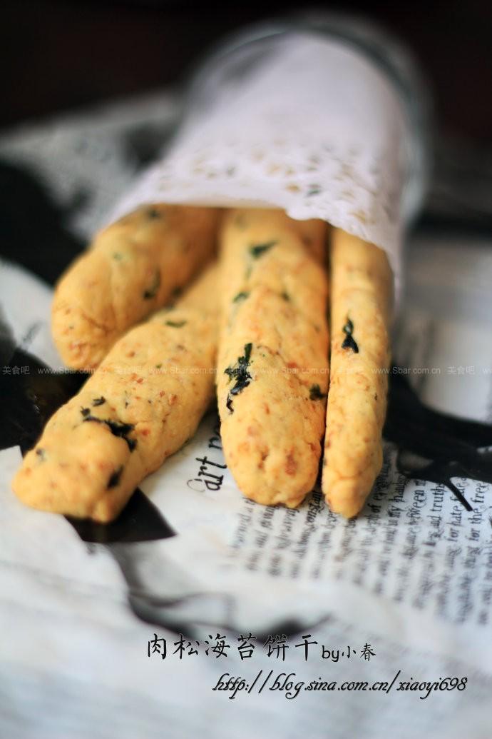 海苔肉松饼干