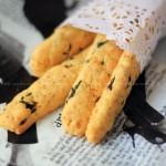 海苔肉松饼干(早餐菜谱)