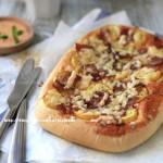 蔬菜培根面包