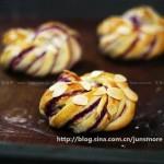 紫薯面包卷(早餐菜谱)
