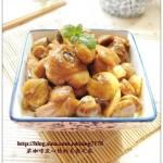 栗子鸡块(老少皆宜的滋补菜)