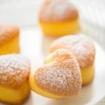 心形小海绵蛋糕(早餐菜谱)