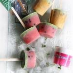 西瓜酸奶棒冰(自制冰棍)
