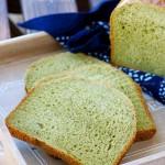 面包机版抹茶蜜豆吐司(早餐菜谱)