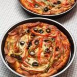 黑橄榄金枪鱼披萨