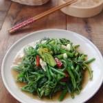 蚝油南瓜苗(夏天的5分钟小清新快手菜)