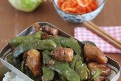 油豆角炖肉