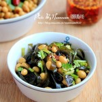 海带拌黄豆(适合三高人群的卤味小菜)