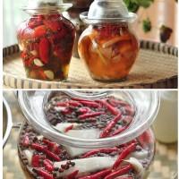 如何自制四川泡菜与泡海椒