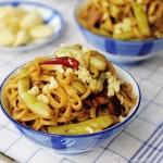 芸豆焖面(早餐菜谱)