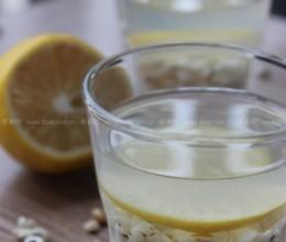 薏米柠檬蜂蜜水