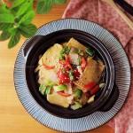 焖汁千叶豆腐