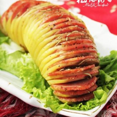 迷迭香烤薯