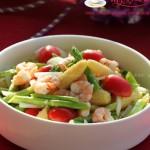 鮮蝦雙筍沙拉