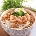 鲜虾香辣豌豆面