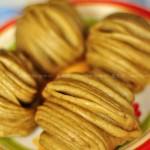 戗面椒盐苦荞花卷(早餐菜谱)
