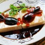 皮蛋豆腐-鱼戏(零厨艺宴客冷盘)