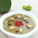 荷叶莲子枸杞粥(早餐菜谱)