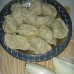黄瓜鸡蛋海米饺子(早餐菜谱)