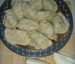 黄瓜鸡蛋海米饺子
