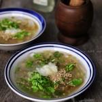鲜海蜇汤(清凉解暑菜谱)