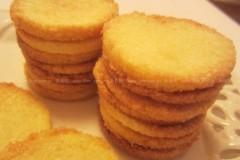椰丝瓦片饼