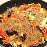 韓式炒冬粉(韓國風味的主食)