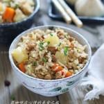 土豆肉馅焖饭(电饭锅菜谱)