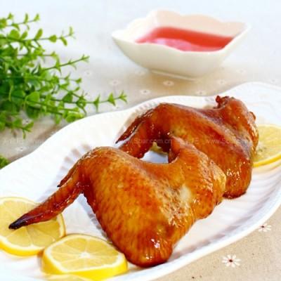 杨梅酒香蜜烤鸡全翅