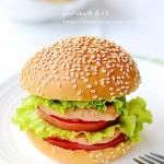 脆皮汉堡的做法(早餐菜谱)