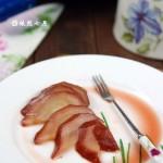 红酒炖红梨(七夕节浪漫甜品)