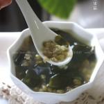 海带绿豆汤(解暑降温)
