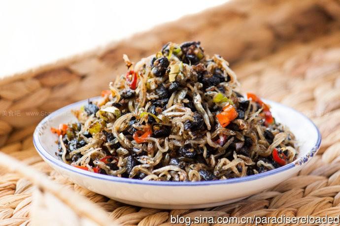 台式油浸豆豉朝天椒丁香小鱼干