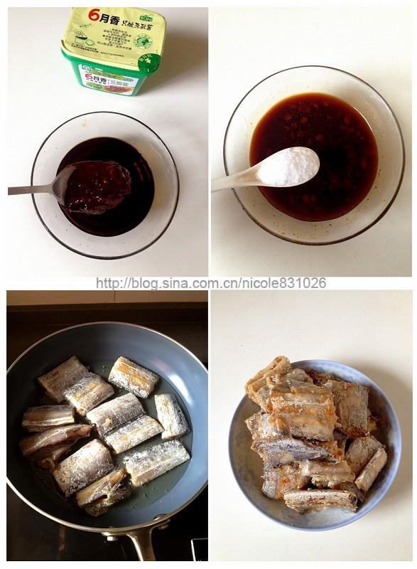 豆瓣酱烧带鱼