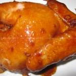 沙姜酱油鸡
