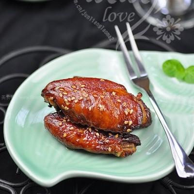 秘汁芝麻烤翅