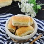 肉松小面包+奶香小面包(早餐菜谱)