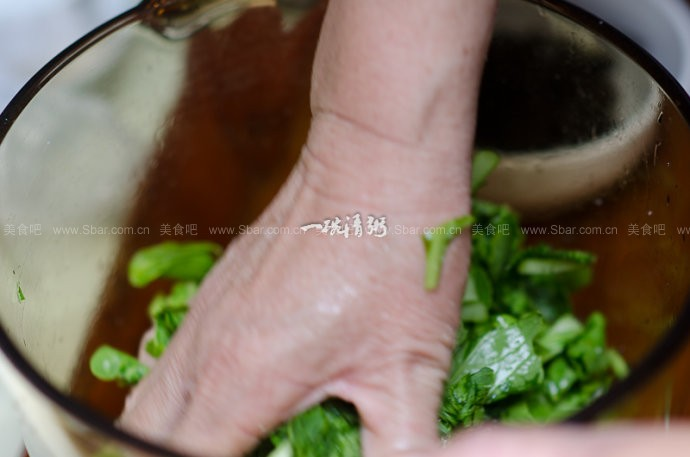 腌青菜炒肉丝
