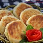 肉末葱油饼(电饼铛早餐菜谱)