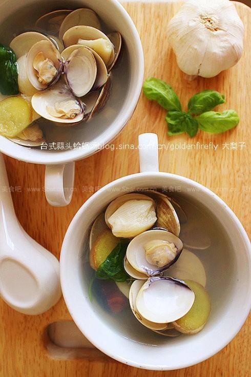 台式蒜头蛤蛎汤