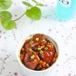红焖猪脚黄豆(极受孕产妇欢迎的滋补美味)