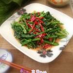韩式凉拌菠菜(异国风味的凉拌菜)
