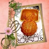 绿豆单黄月饼