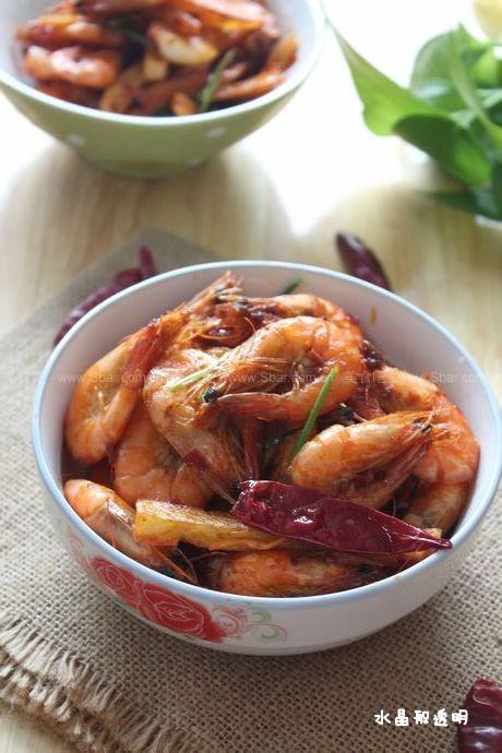 麻辣吮指干锅虾