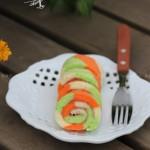 彩虹蛋糕卷(早餐菜谱)