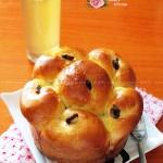 面包機版圣女果干圓形吐司面包