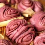 紫薯葱油卷(早餐菜谱)
